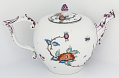 View Meissen teapot and cover (part of a service) digital asset number 2
