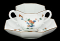 View Meissen two-handled cup and saucer digital asset number 0