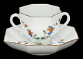 View Meissen two-handled cup and saucer digital asset number 3