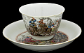 View Meissen tea bowl and saucer (Hausmaler) digital asset number 0