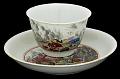 View Meissen tea bowl and saucer (Hausmaler) digital asset number 2