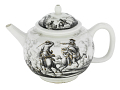 View Meissen teapot and cover (Hausmaler) digital asset number 0