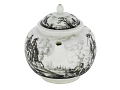 View Meissen teapot and cover (Hausmaler) digital asset number 1