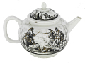 View Meissen teapot and cover (Hausmaler) digital asset number 2