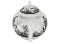 View Meissen teapot and cover (Hausmaler) digital asset number 3