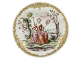 View Meissen cup and saucer: one of a pair digital asset number 1