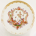 View Meissen chocolate cup and saucer (part of a service: Hausmaler) digital asset number 3