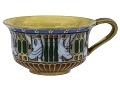 View Sèvres porcelain cup and saucer digital asset: Sevres porcelain cup, Egyptian motifs, 1813-1814