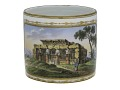 View Meissen porcelain sugar jar and cover digital asset: Meissen bowl, landscapes with Egyptian motifs, ca 1800