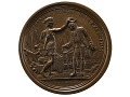 View Daniel Morgan at the Cowpens, France, 1781 (Paris Mint, struck from 1839 Barré dies) digital asset: Daniel Morgan at the Cowpens, 1781, obverse