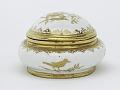 View Meissen Böttger porcelain sugar box (Hausmaler) digital asset number 2