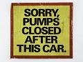 View Exxon Gasoline Shortage Sign, 1974 digital asset number 0