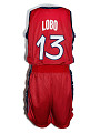 View USA basketball jersey worn by Rebecca Lobo during the 1996 Olympic games digital asset number 1