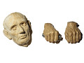 View Casts of Abraham Lincoln's Face and Hands digital asset number 0