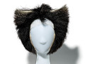 View Wig from Mistoffelees costume used in the musical <i>Cats</i> digital asset: Wig from Mistoffelees costume from Cats on Broadway