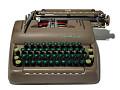 View Typewriter used by Carl Reiner to write Dick Van Dyke Show scripts digital asset: Typewriter used by Carl Reiner to write Dick Van Dyke show scripts