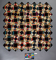 View 1855 - 1885 Laura Clark's Silk Patchwork Table Cover digital asset number 2