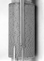 View Keuffel & Esser 4015 Fuller's Spiral Cylindrical Slide Rule digital asset: Fuller's Spiral Slide Rule, Detail of Outer Cylinder