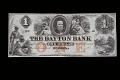 View 1 Dollar, Dayton Bank, Minnesota, United States, 1853 digital asset number 1