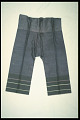 View 1895 - 1905 Chinese American Woman's Trousers digital asset number 1