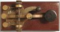View Stevens top-contact morse telegraph key digital asset number 4