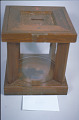View Glass Ballot Jar with Lockable Wooden Housing, 1884 digital asset number 1