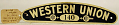 View Western Union cap badge #140 digital asset number 0