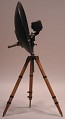 View NBC / RCA model parabolic condenser microphone on stand digital asset number 3