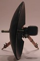 View NBC / RCA model parabolic condenser microphone on stand digital asset number 4
