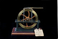 View Lamb's Patent Model of a Rotary Steam Engine – ca 1865 digital asset: Patent model, Hydraulic Rotary Engine, patented by G. A. Lamb on December 5, 1865