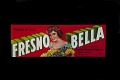 View Grape Crate Label, Fresno Bella digital asset number 0