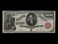 View 1,000 Dollars, Legal Tender Note, United States, 1880 digital asset number 0