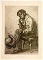 View A Hard Problem: An Aldine Publishing Co. Engraving attributed to Thomas Brooks digital asset: A Hard Problem