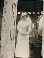 View Nacoochee Mound excavation photographs digital asset: Portrait of Thea Heye