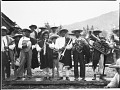 View Donald B. Cordry photographs from Mexico digital asset: Pastorela dance in Cherán