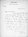 View M.R. Harrington: Correspondence, General digital asset number 1