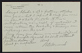 View M.R. Harrington: Correspondence, Professional, A-G digital asset number 8