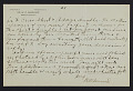 View M.R. Harrington: Correspondence, Professional, A-G digital asset number 1