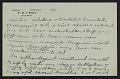 View M.R. Harrington: Correspondence, Professional, A-G digital asset number 10