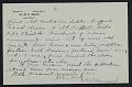 View M.R. Harrington: Correspondence, Professional, A-G digital asset number 7