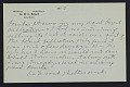 View M.R. Harrington: Correspondence, Professional, A-G digital asset number 6