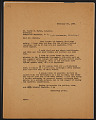 View M.R. Harrington: Correspondence, Professional, Hurst digital asset number 8