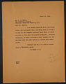 View M.R. Harrington: Correspondence, Professional, Hurst digital asset number 9