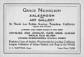 View Grace Nicholson: Inventories and Clippings digital asset number 1