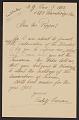 View George Pepper: Correspondence digital asset number 1