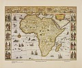 "View Historic Maps of Africa collection digital asset: ""A New Description of Africa -- 1631"""