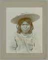 View Portrait of Man in Native Dress and Wearing Straw Hat n.d digital asset number 0