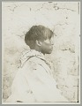 View Boy in Native Dress Next to Stone Wall n.d digital asset number 1