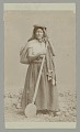 View Woman in Native Dress with Wood Paddle n.d digital asset number 0