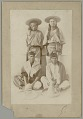 View Four (Michoacan?) Men in Native Dress n.d digital asset number 1